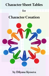 Character Sheet Tables for Character Creation